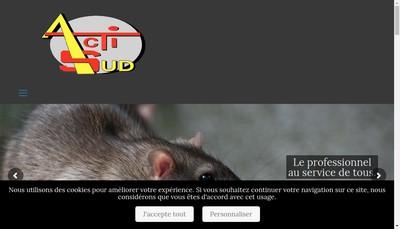 Site internet de Actisud