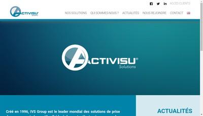 Site internet de Interactif Visuel Systeme
