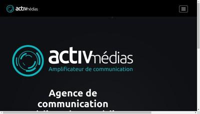 Site internet de Activ Radio