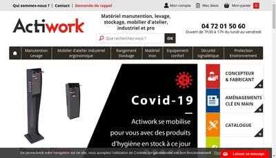 Site internet de Actiwork