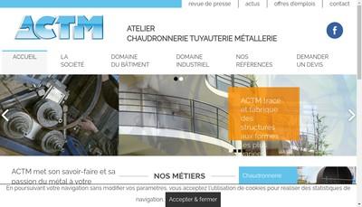 Site internet de ACTM