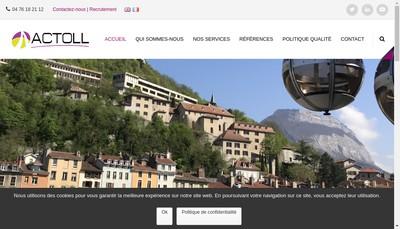 Site internet de Actoll
