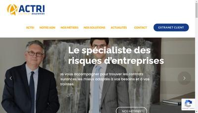Site internet de ACTRI