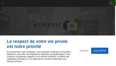 Site internet de Actuabat