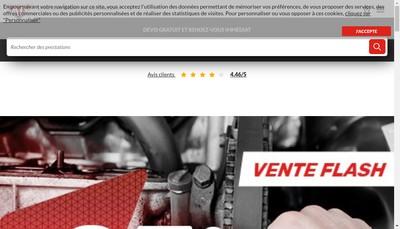 Site internet de Lopes Automobiles