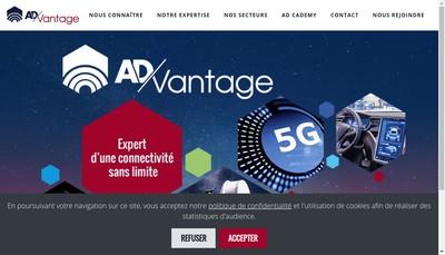 Site internet de Ad-Vantage