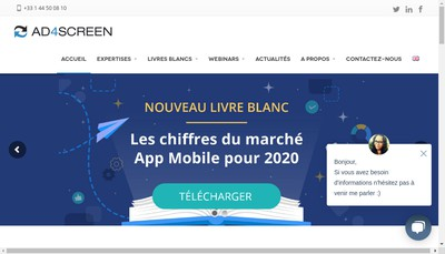 Site internet de Mobile First Alliance