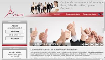 Site internet de Adalid