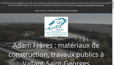 Site internet de Adam Freres