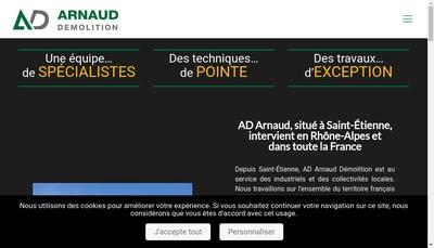 Site internet de Recuperation Metaux du Centre