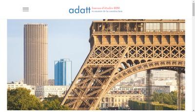 Site internet de Adatt Sud-Ouest