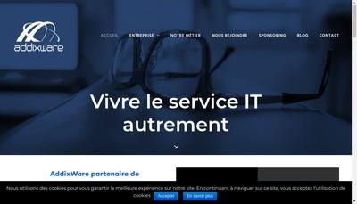 Site internet de Addixware