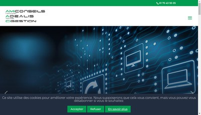 Site internet de Adealis