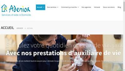 Site internet de Adenior Expansion