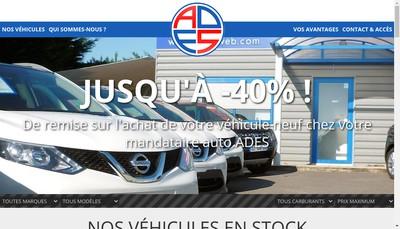 Site internet de ADES