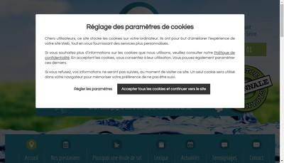 Site internet de Assainissement Developpement Etudes Techniques Environnement Conseil
