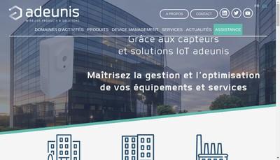 Site internet de Adeunis