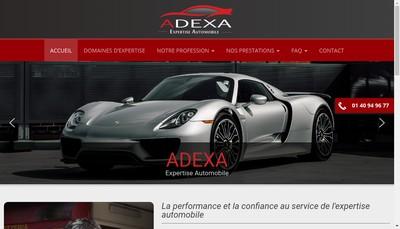 Site internet de Adexa