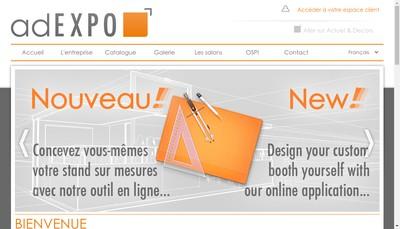 Site internet de Adexpo