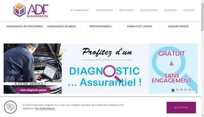 Site internet de Assurances de France