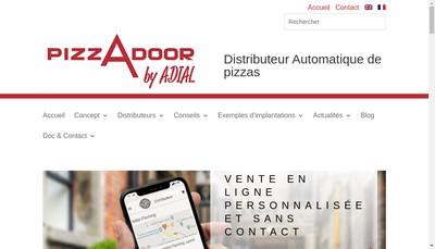 Site internet de Adial