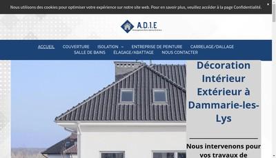 Site internet de EURL ADIE
