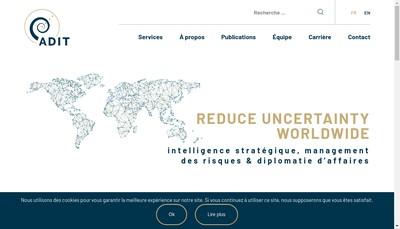 Site internet de Adit