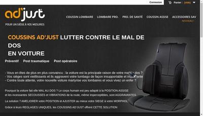 Site internet de Adjust