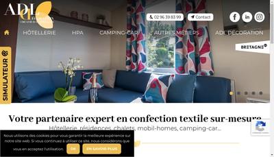 Site internet de Adl Decoration