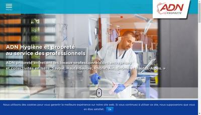 Site internet de ADN