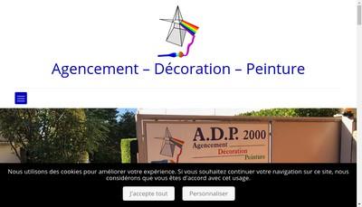 Site internet de SARL Adp 2000