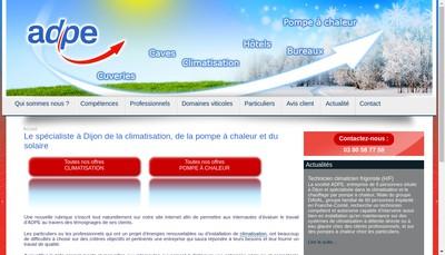 Site internet de Adpe