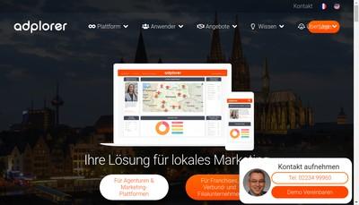 Site internet de Publocity Gmbh&Co Kg