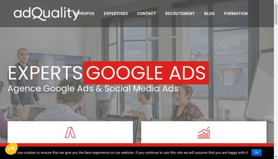 Site internet de Adquality