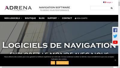 Site internet de Adrena