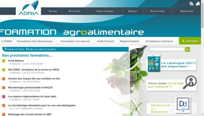 Site internet de Adria Developpement
