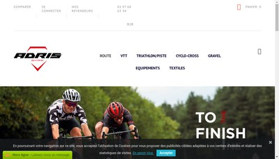 Site internet de Adrisport