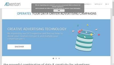 Site internet de Adventori