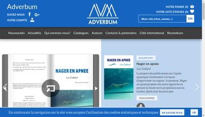 Site internet de Atelier Perrousseaux Editeur