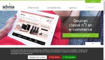 Site internet de Advisa