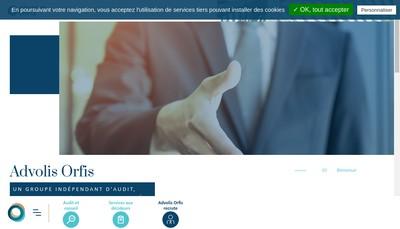 Site internet de Orfis