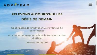 Site internet de Advyteam Consulting Group