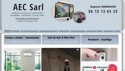 Site internet de Air & Eau Creations