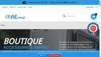 Site internet de Aecamp