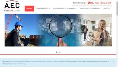 Site internet de Aec Expert