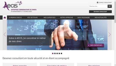 Site internet de Aecis