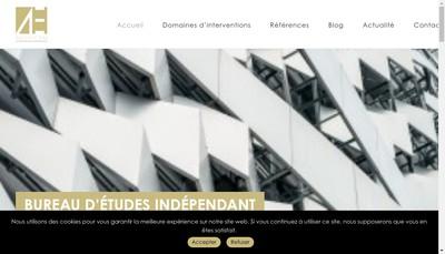 Site internet de Aedificem