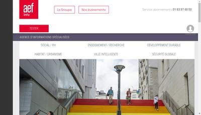 Site internet de Aefc