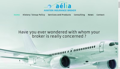 Site internet de Aelia Assurances