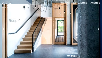 Site internet de Aer Architectes